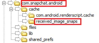 find the received_images_snaps folder
