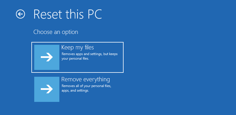 How to Use Recovery Options on Windows 10 [Premise and Step-by-step