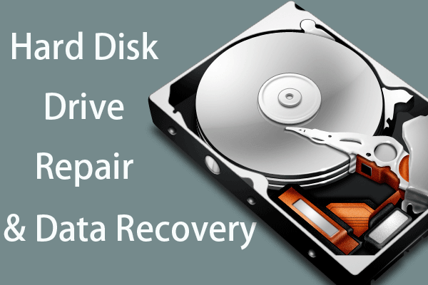How To Repair Hard Drive and Restore Data in Windows 10/8/7 Free