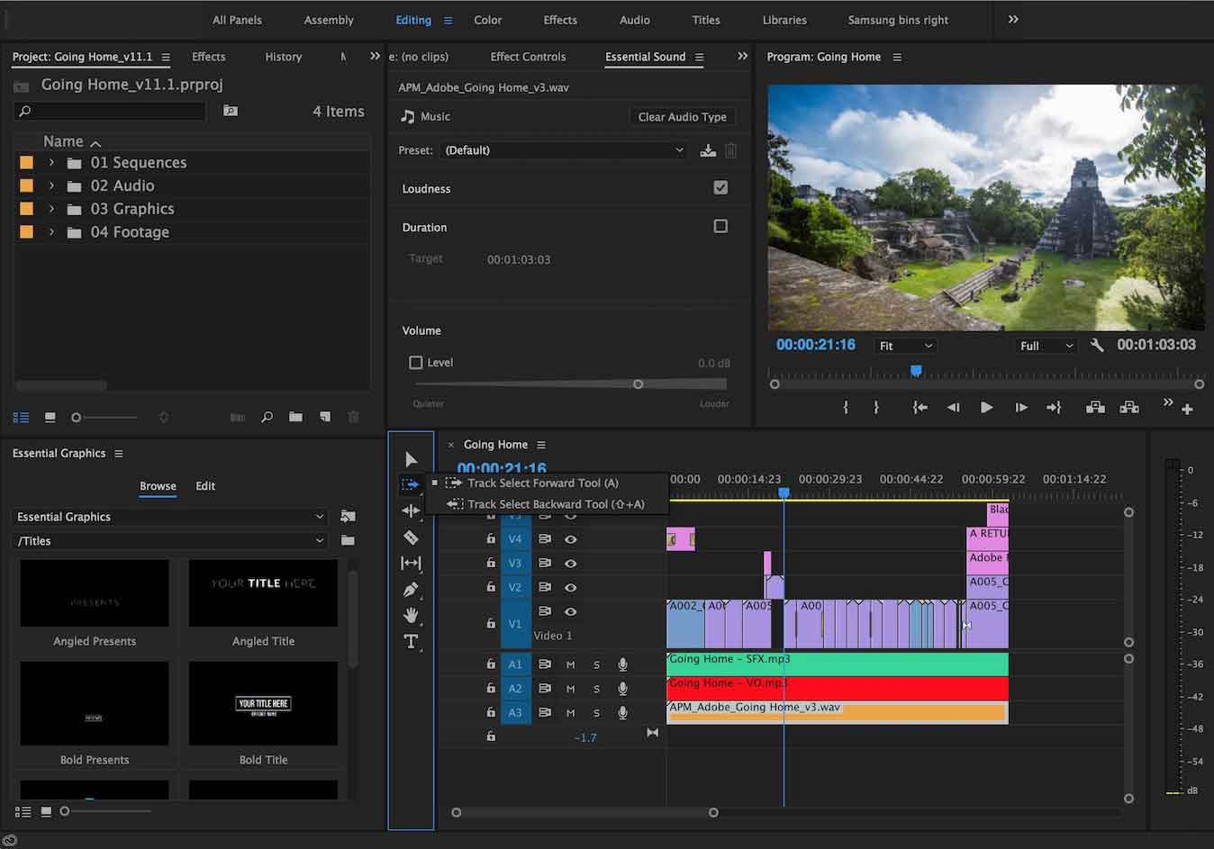 the professional MP4 video editor – Adobe Premiere Pro CC