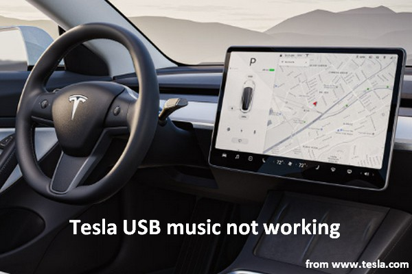When Tesla USB Music Not Working, How To Fix It