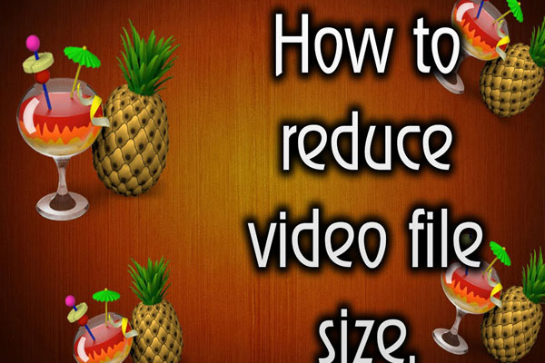 reduce file size quicktime movie mac
