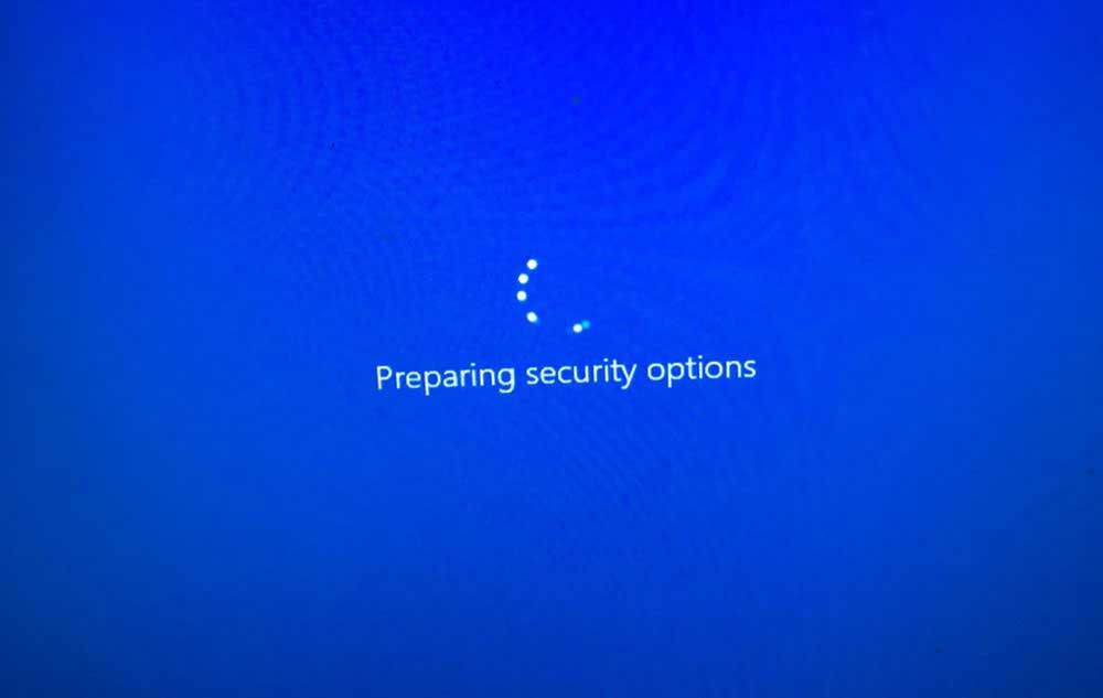 Windows 10 Preparing Security Options Stuck? Here Are 10