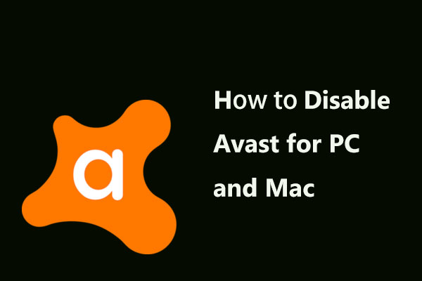 disable avast thumbnail