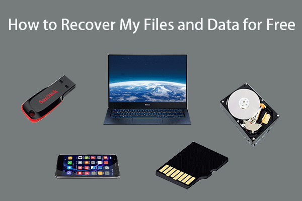 recover deleted/lost files free from any storage device