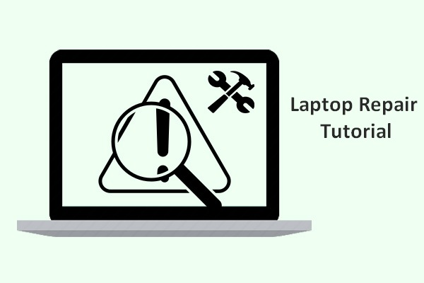 laptop repair recovery tutorial thumbnail