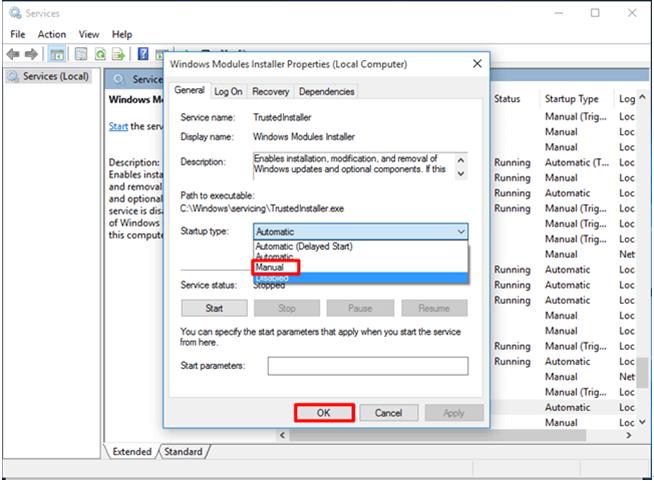 Quick Fix Windows Modules Installer Worker High CPU Usage