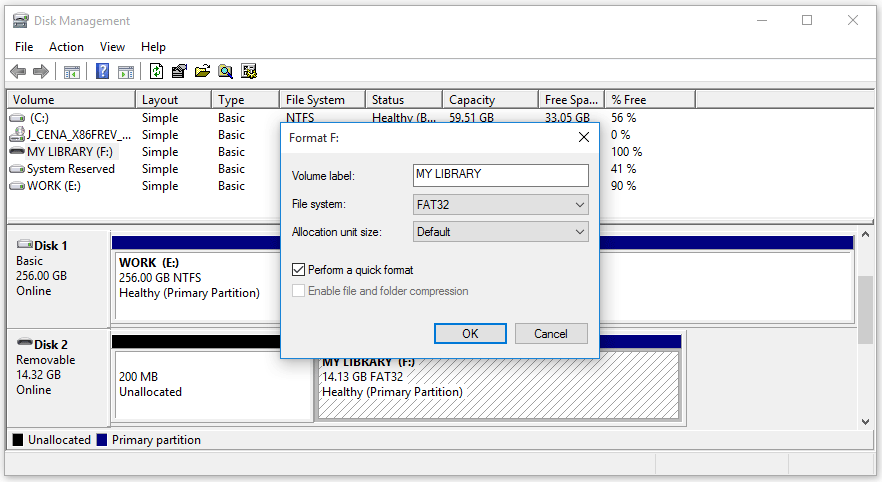How Can You Fix SD Card Command Volume Partition Disk Failed