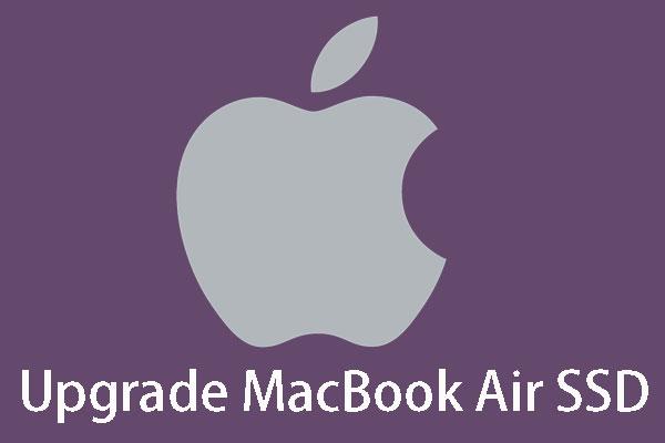 macbook air ssd tauschen