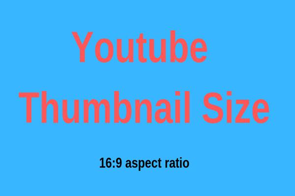 El Mejor Tamaño De Miniatura Para Youtube 6 Cosas Que Debes
