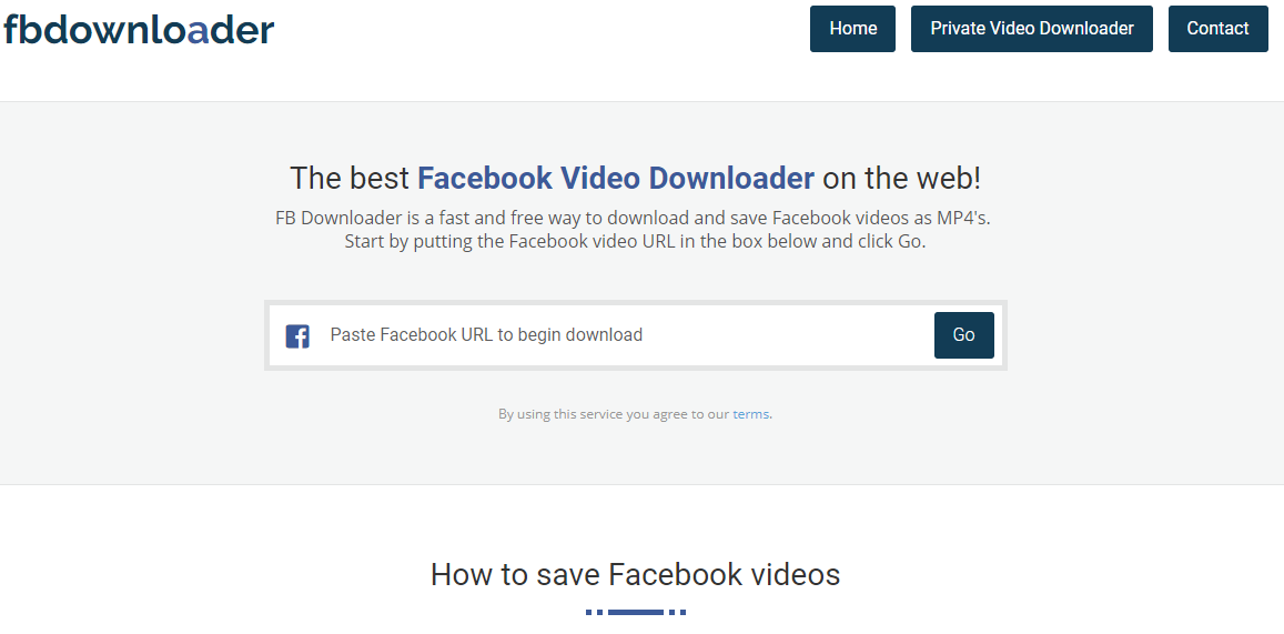 Free Online Facebook Video Downloader to Save Your FB Videos