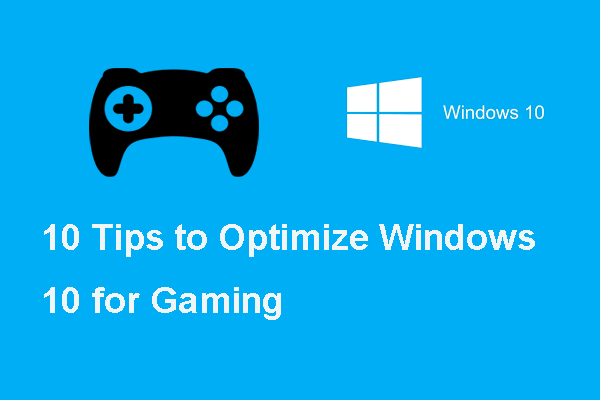 optimize windows 10 for gaming thumbnail