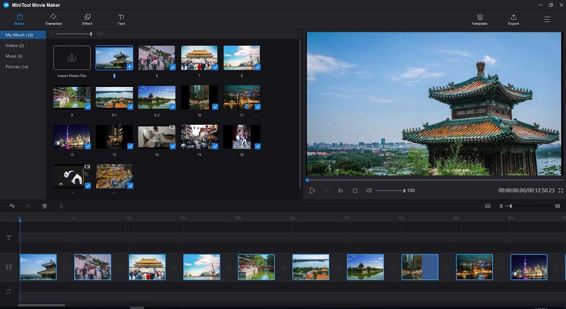 windows 10 video editing software for free