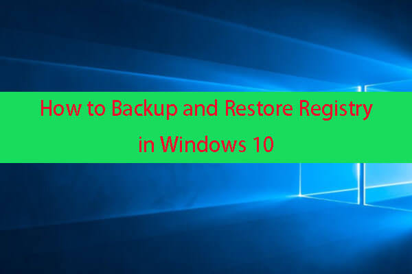 backup and restore registry thumbnail