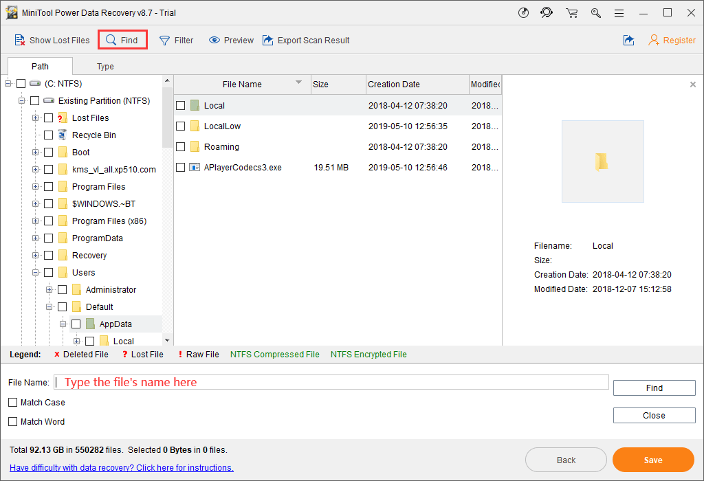 How to Find the AppData Folder on Windows? (Two Cases)