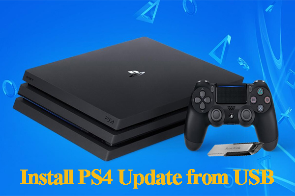 How Do I Install Ps4 Update From Usb   Step