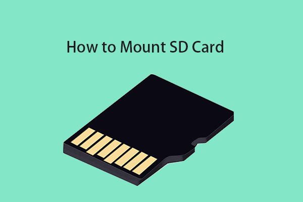 mount unmount sd card thumbnail