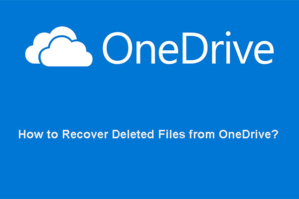 recover deleted files from onedrive thumbnail