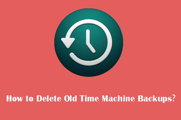how to delete Time Machine backups