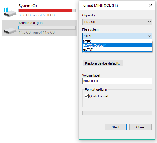 Basic Introduction to exFAT - MiniTool