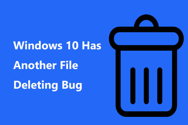 Windows 10 Has Another File-Deleting Bug: Zip File Copy