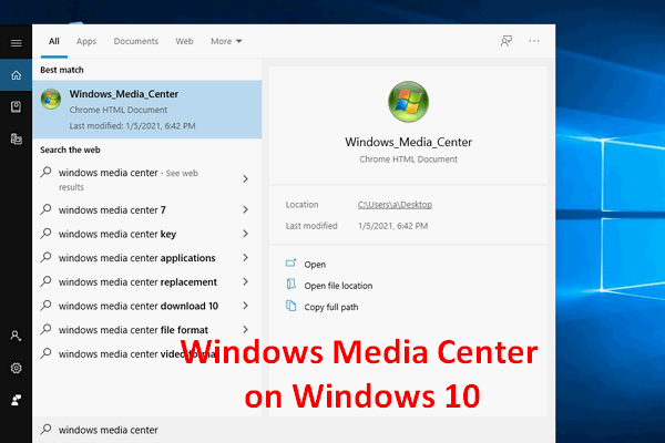 The Best Windows Media Center On Windows 10 – Check It Out
