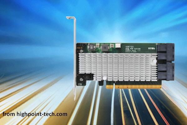 HighPoint SSD7120 Is A Fantastic NVMe RAID Controller - MiniTool