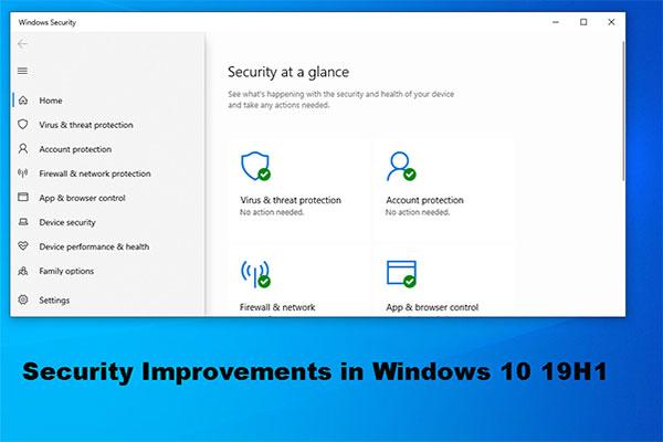 april 2019 update windows 10