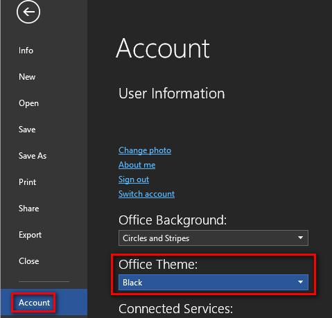 Cách Bật Chế Độ Tối Trong Windows 10, Microsoft Edge Và Office - AN PHÁT