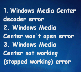 Best Ways To Fix Media Center Error On Windows 10 - MiniTool