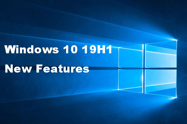 windows 10 19h1 new features thumbnail