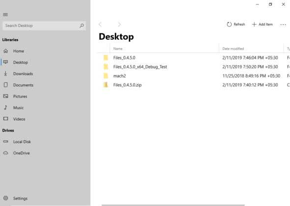 Modern File Explorer Windows 10 Is Showing off by Third-party