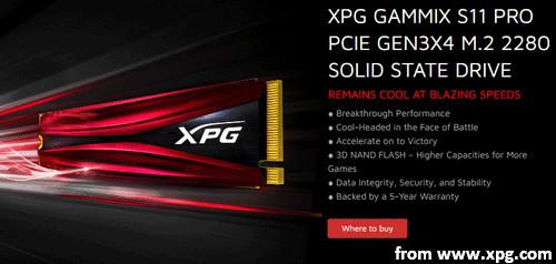 The XPG GAMMIX S11 Pro Is An M 2 NVMe SSD Of ADATA - MiniTool