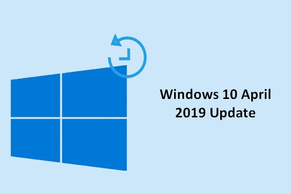 microsoft windows 10 update april 2019