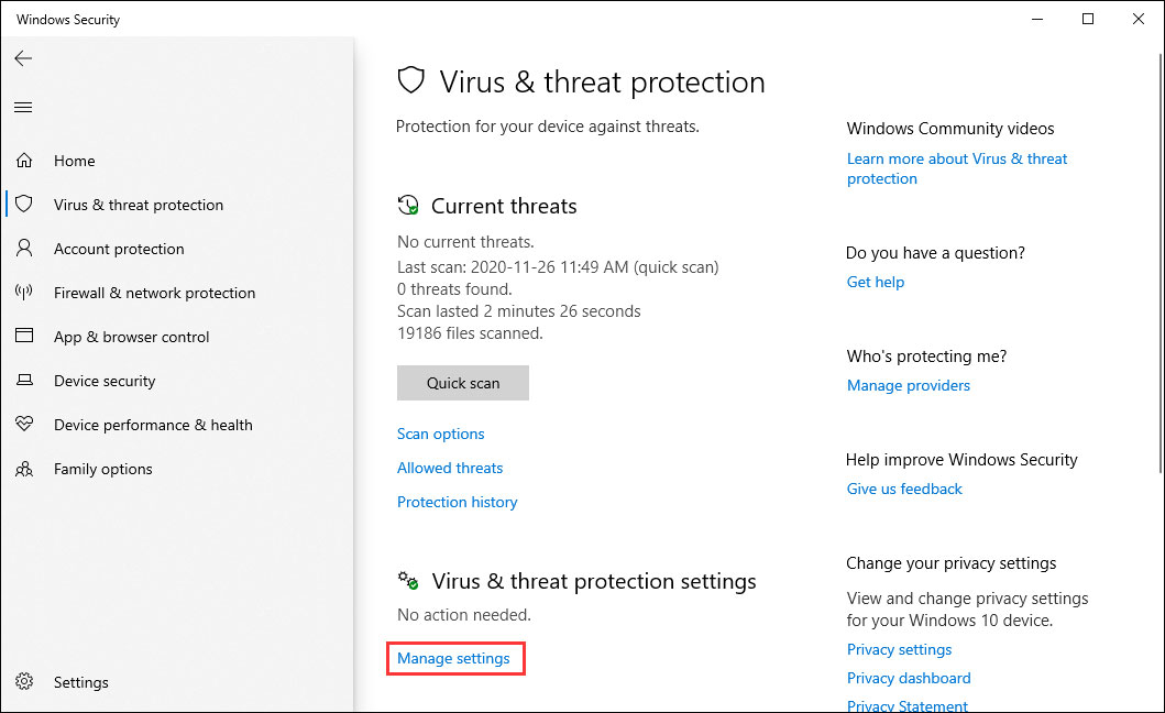 3 Ways to Disable Windows Defender Antivirus on Windows 10 - MiniTool