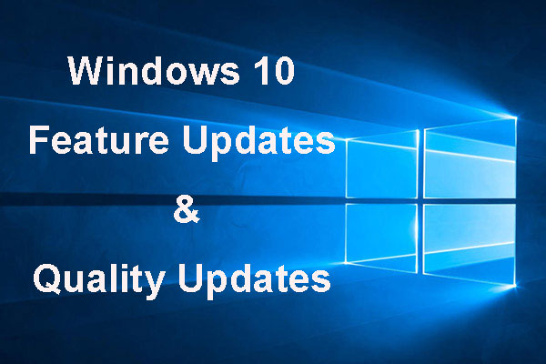 feature updates quality updates win10 thumbnail