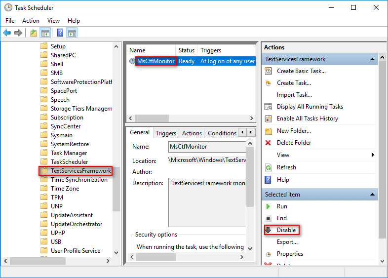 Come Across CTF Loader Issue On Windows 10? Fix It Now - MiniTool