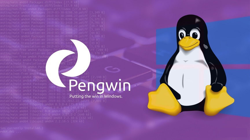 run Pengwin on Windows Subsystem for Linux