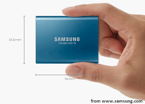 The New Samsung Portable SSD T5 Enjoys High Performance - MiniTool