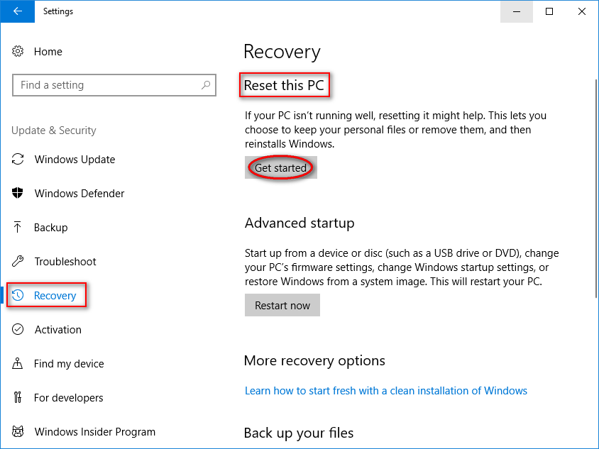How To Factory Reset Windows 10: Full Guide - MiniTool