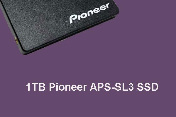 Pioneer Internal SSD APS-SL3 1TB Drive Is the World's