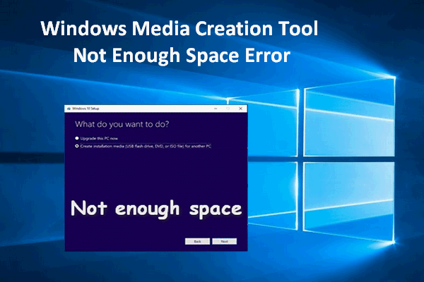 Try These Windows 10 Media Creation Tool Error {Mahindra Racing}