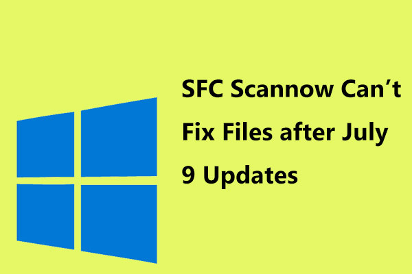 windows 10 sfc scannow unable to fix files thumbnail