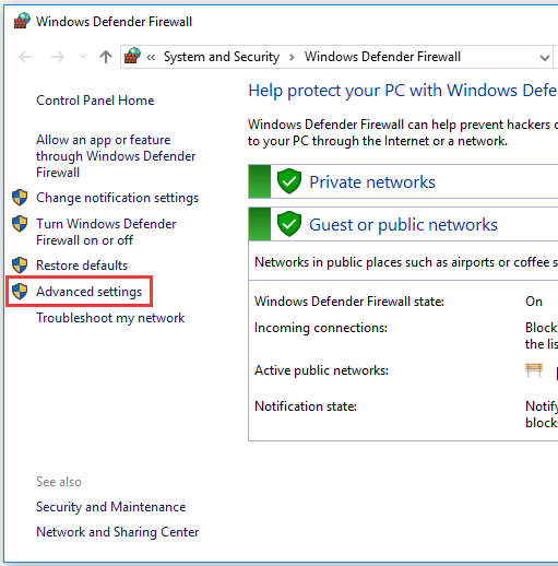 How to Block a Program with Windows Firewall in Windows 10