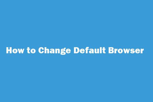 How to Change/Make (Chrome) Default Browser Windows 10/8/7
