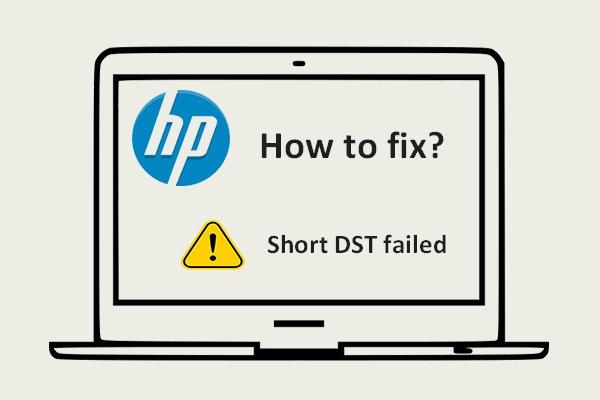Short DST failed