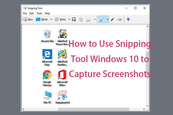 How To Take A Screenshot On Windows Using The Snipping Tool?