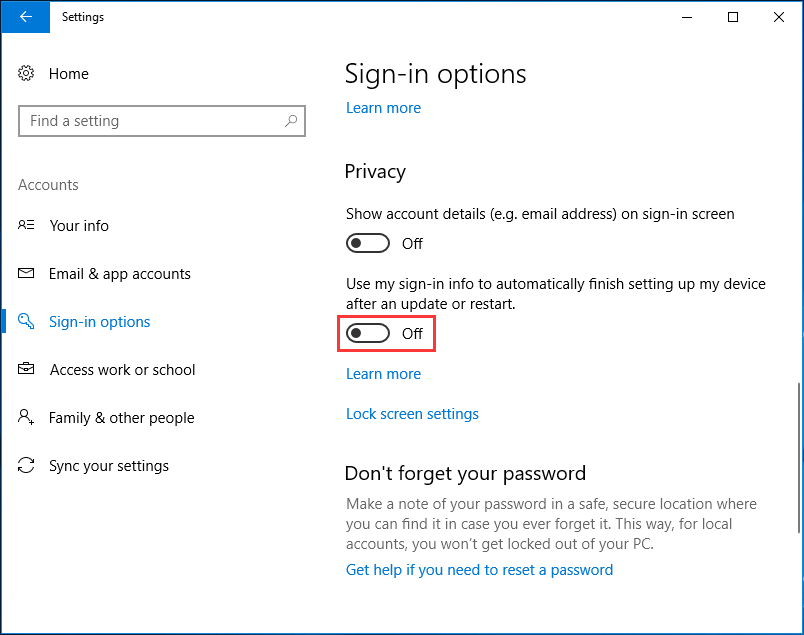 "Fix for ""the Username or Password Is Incorrect"" in Windows"