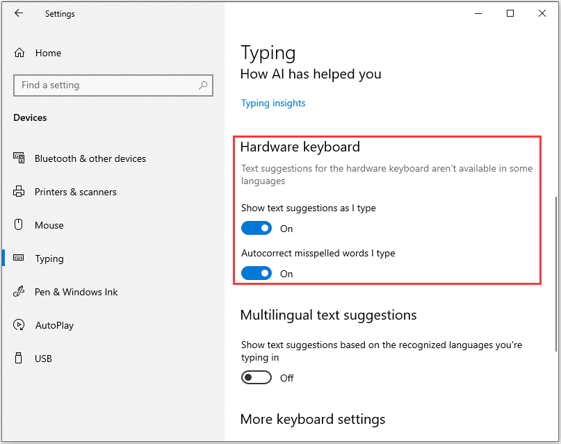 A Guide on How to Enable Text Prediction in Windows 10
