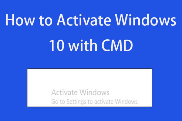 how to activate windows 10 cmd thumbnail
